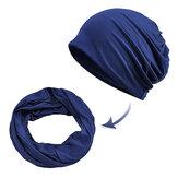 Женское Unisex Многофункциональный двойной хлопок из хлопчатобумажных изделий Шапка Прочный ветрозащитный колпачок