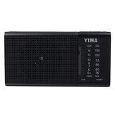 AMportátil530-1600KHzFMRadioLED Flash Altavoz con luz reproductor de MP3