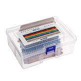 1460 pièces 76 types 1R-1M valeur 5% 1/4 W résistance à film métallique Kit assorti 20 pièces chaque valeur avec boîtier en plastique