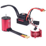 SURPASS HOBBY 3650 Brushless Waterproof Motor 2300KV 45A Waterproof ESC For 2S 3S1/10 RC Car Vehicle Parts