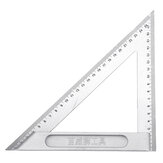 6/8 Inch Triangle Angle Ruler 150/200mm Metric Woodworking Square Layout Tool