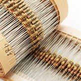 1500Uds 1/4W 5% Resistor de Película de Carbono Kit Surtido de 75 Valores Rango de 1 ohm~10M ohm