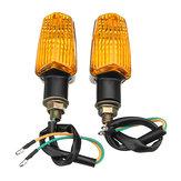 2 adet Motosiklet Motosiklet Flaşör Dönüş Sinyali Lamba Gösterge LED Işıkları Evrensel