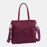 Light Weight Large Capacity Nylon Waterproof Handbag Shoulder Bag Crossbody Bag For Women