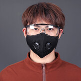 BIKIGHT Unisex Dustproof Cycling Face Mask Breathable Activated Carbon Respirator Mask For Cycling Running