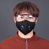 BIKIGHT Unisex stofdicht fietsmasker Ademend actief koolmasker voor fietsen tijdens hardlopen