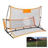 1.8/2.1M Soccer Rebounder Net Portable Folding Football Goal Shoot Training Equipment Outdoor Sport
