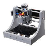 1208 3 Axis Mini Assembled CNC Router Wood PCB Milling Engraving Machine DIY Engraver 120x80x16mm
