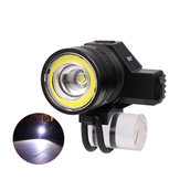 XANES® 2022 650LM USB Headlamp 5 Modes Mechanical Zoom Bicycle Headlight Flashlight For Camping Hunting Cycling