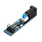 10Pcs AMS1117 5V Power Supply Module With DC Socket And Switch