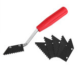 Tile Gap Cleaning Blade Floor Gap Grouting Glue Cleaning for Wall Tile Seam Tool Construction Tools
