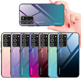 Bakeey Gradient Color Tempered Glass Shockproof Scratch Resistant Protective Case for Samsung Galaxy Note 20 Ultra / Galaxy Note20 Ultra 5G