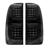 Links en rechts gerookte led auto staart remlicht voor TOYOTA HILUX VIGO MK7 SR5 2004-2015