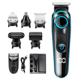 SH-1831 5 In 1 Multifunctional  Electric Hair Clipper Shaver USB Charging Beard Shaver Body Trimmer Nose Trimmer for Home Man Child Hair Cutting