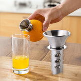 HonanaKT-521inacciaioinoxfrutta verdura Strumenti spremiagrumi spremiagrumi manuale spremiagrumi Vite premere arancio frutta spremiagrumi strumento