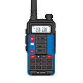 BAOFENG BF-UV10R 5800mAh 10W Two-way Handheld Radio UV Dual Blue Walkie Talkie 128 Channels LED Flashlight USB