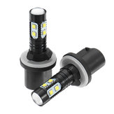30W LED Car Front Fog Lights DRL Turn Lamp with Projector Lens H27 881 880 T10 White 2PCS