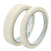 20m Masking Tape Roll Paintable General Purpose Crepe Paper Tape 2 Widths