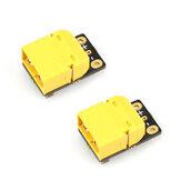2 X Racerstar CS12 180A XT60 2-6S Current Sensor w/ AMASS Plug 10cm Long 14 AWG for RC Drone FPV Racing