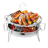 Portable Folding Barbecue BBQ Charcoal Grill Stainless Steel Patio Camping Picnic Cooking Stove