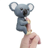 Cute Interactive Baby Fingers Koala Smart Colorful Induction Electronics Pet Toy For Kids Gift