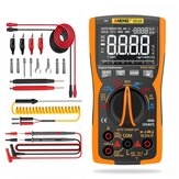 ANENG SZ18 9999 Counts Professional True RMS Digital Multimeter Analog Tester Multimetro DIY Square Wave Output Transistor Capacitor NCV Testers