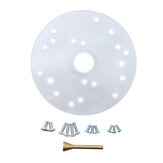 164mm Diameter Clear Acrylic Universal Router Base Plate Woodworking Tool for Makita