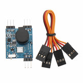 Wireless Signal Loss Alarm Tracking Buzzer with LED Light for RC Helicopter FPV Racing Drone Battery