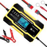 RJtianye 12V 24V 10A 180W Bateria Carregador de alta potência de reparo Visor digital inteligente LCD para motocicleta de carro