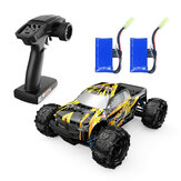 Eachine EAT10 RTR Brushed 1/18 2.4G 4WD 28km/h RC Car Truck High Speed Off Road Model Vehicle Two Batteries