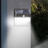 ARILUX 136LED solare Sensore di movimento della luce Illuminazione su quattro lati IP65 Impermeabile 3 modalità di illuminazione Lampada Cancelli Cortile Parco Giardino Lampada da parete