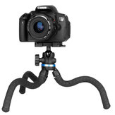 Ulanzi TT20S Octopus Flexible Mini Desktop Tripod with Tripod Head Ballhead Phone Clip