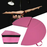 62x1.1inch Portable 4 Folding Pole Dance Safety Mat Floor Home Gym Exercise Fitness Pad