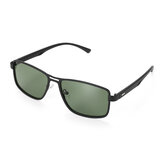 Men Polarized Photochromatic Sunglasses Night Vision Lens Glasses w/ Storage Case