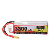 ZOP Power 14.8V 3300mAh 100C 4S Lipo Batterie XT60 Stecker für RC Helikopterboot