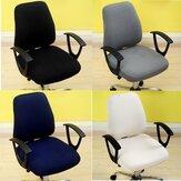 Capa para cadeira de computador de escritório Capa elástica para cadeira Anti-sujeira removível com elevador Caso Capas para capa de assento de sala de reuniões