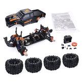 ZD Racing MT8 Pirates3 1/8 4WD 90km / h senza spazzola Kit auto RC senza parti elettroniche