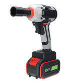 100-240V 450NM Electric Impact Wrench Cordless Brushless Driver Drill Rattle Repair Tool