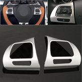 Стальная кольцевая колесная хромовая крышка для Volkswagen VW Golf MK6 Jetta Passat B7 CC