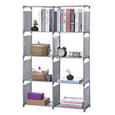 5 ярусов металлический Cube книжный шкаф полка для хранения Дисплей подставка DVD CD держатель книжные полки стеллажи для хранения стеллажи дл