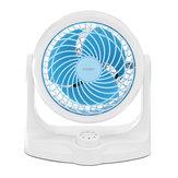 Mini fan Personal Table Desk Fan Air Circulator Fan Noiseless Fan 3 Speeds 360° Rotating Adjustable