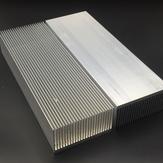 Almofada de resfriamento do dissipador de calor da liga de alumínio para dissipador de calor do radiador do chip de alta potência LED IC 230 * 80 * 27mm / 150 * 80 * 27mm / 100 * 80 * 27mm