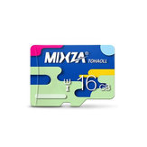 Mixza Colorful Edition 16GB U1 Class 10 TF Micro Memory Card for Digital Camera TV Box MP3 Smartphone