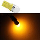 CNSUNNYLIGHTT10W5W194LEDfeux de position côté voiture ampoule plaque d'immatriculation lecture intérieure Dome lampe