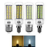 E14 E27 7W 72 SMD 5730 bianco caldo bianco puro LED Corn Light Bulb per la decorazione domestica AC220V