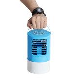 Original 18W 3 Speeds 7 Colors Light Humidifying Timing Mini Portable Air Cooler Fan