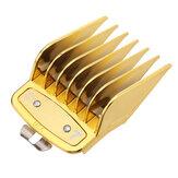 10Pcs Cabelo Clipper Attachment Pentes Guide Limit Comb Comb Tools para WAHL