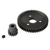1Set 15T / 17T / 19T Gear + 54T Gear لـ 727 Huanqi Slash RC Car Parts