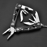 9 IN 1 Folder Multi-function Pliers Tool  Stainless Steel Portable Tools With Nylon Bag
