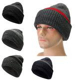 Men Camping Hat Winter Beanie Baggy Warm Wool Fleece Ski Cap